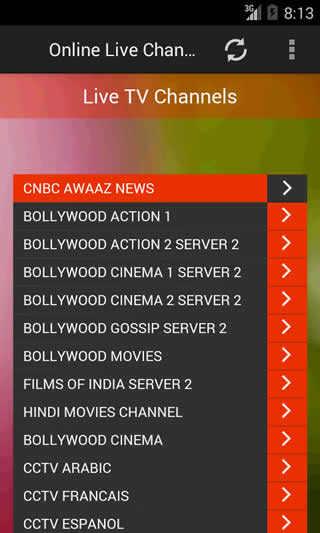 Live TV Channels screenshot 1