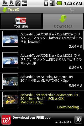 TubeX: Fast YouTube Downloader screenshot 3