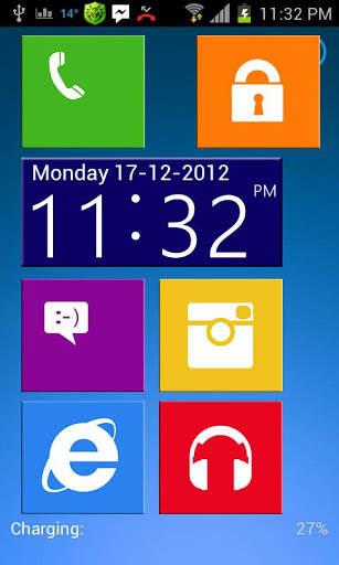 Windows 8 Go Locker Theme screenshot 2