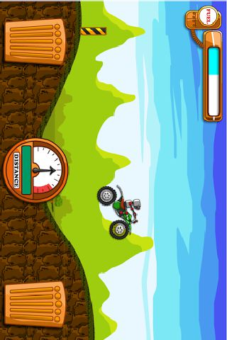 Hill Climb Steampunk Racing screenshot 1