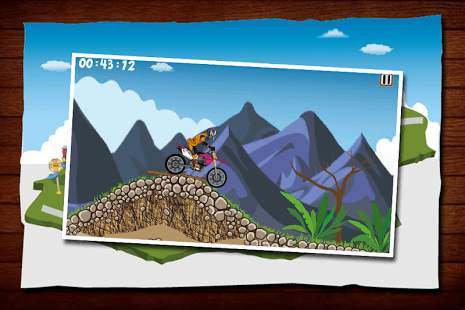 Hill Racing MX Moto 3D screenshot 2