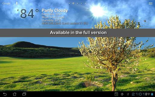 True Weather LWP Free screenshot 5