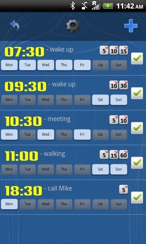 Smart Alarm Clock Free screenshot 7