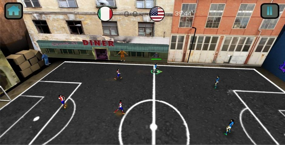Soccer Match Competition 3D screenshot 2
