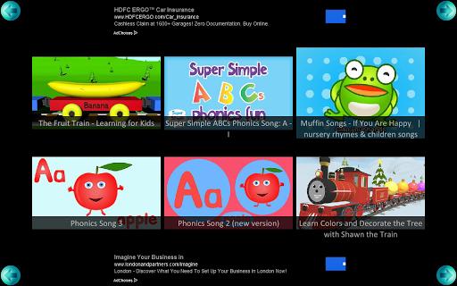 Kids Learning Children Videos 4 تصوير الشاشة