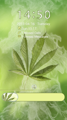 GO Locker Weed Ganja Theme screenshot 2