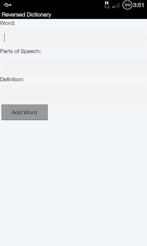 Rhyme Reverse Dictionary screenshot 4