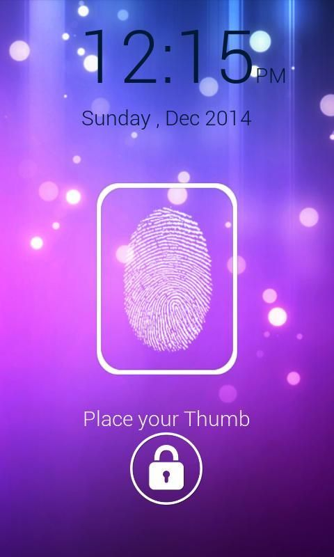 FingerPrint Prank ScreenLock screenshot 5