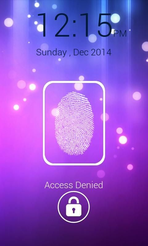 FingerPrint Prank ScreenLock screenshot 4