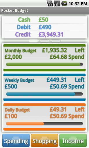 Pocket Budget Free screenshot 3