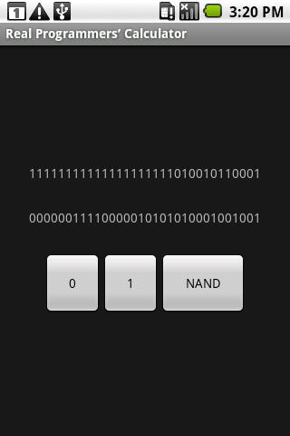 Real Programmers' Calculator screenshot 1
