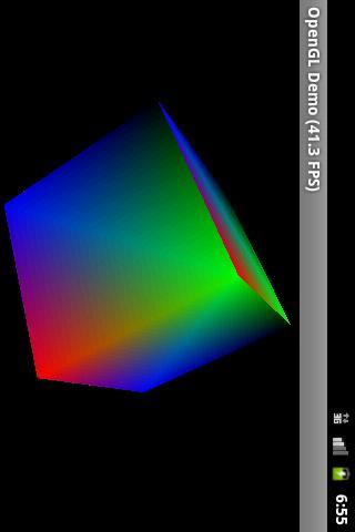 OpenGL ES 1.0 Demo screenshot 1