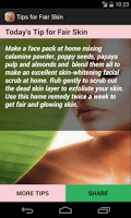 Beauty Tips for Fair Skin screenshot 4