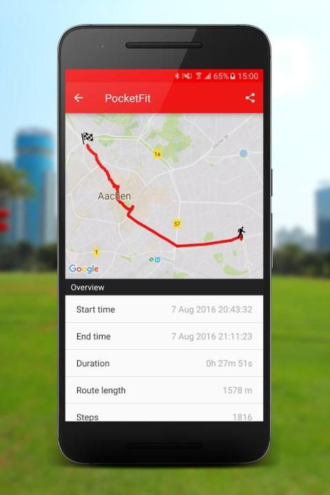 PocketFit screenshot 3