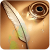 Galaxy Note feather wallpaper أيقونة