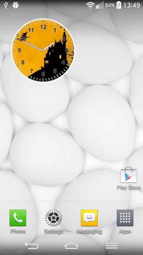 Halloween Clock screenshot 1