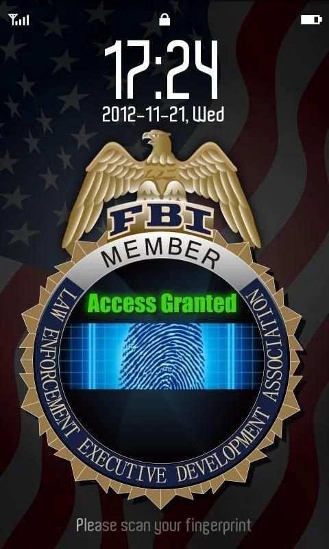 FBI FingerPrint Joke screenshot 1