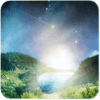 Meteor flying heaven Wallpaper أيقونة