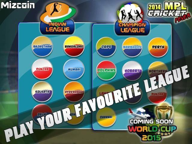 MPL Cricket Fever Game 2014 screenshot 3