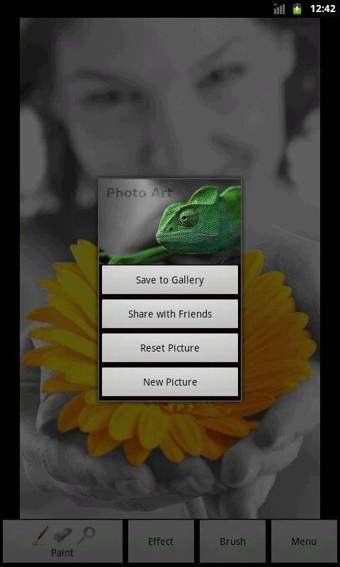 Photo Art - Color Effects 5 تصوير الشاشة