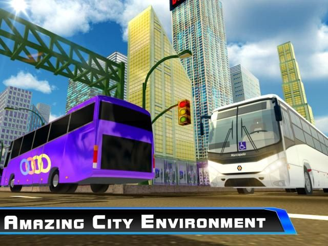 Modern City Tousrist Bus 3D screenshot 2