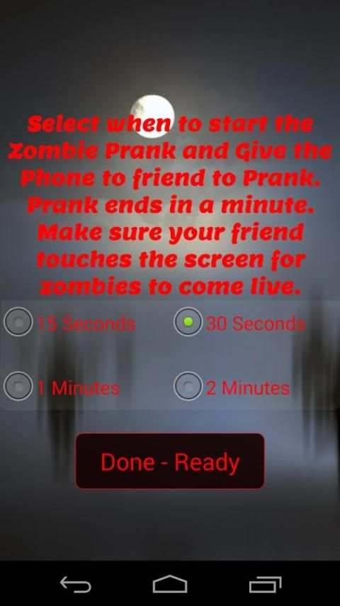 Zombie Scare Prank screenshot 1