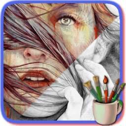 Pencil Color Sketches