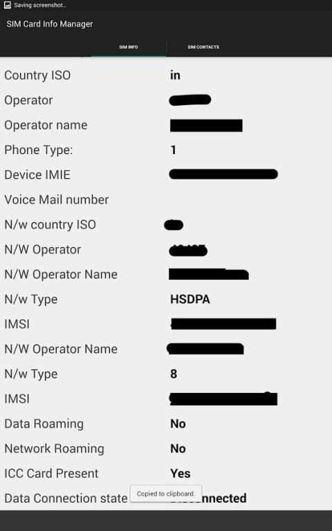SIM Card Info Manager screenshot 17