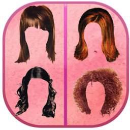 Women Hair Style Photo Editor