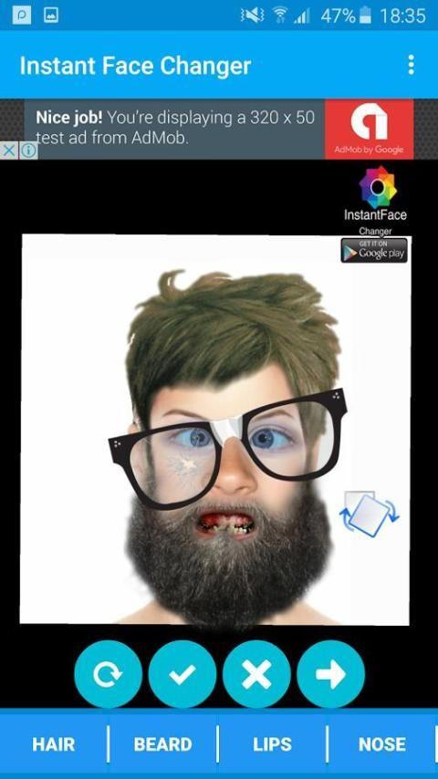 Face Changing - InstantFace screenshot 5