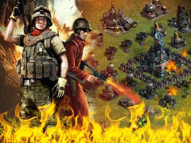 Red Warfare: Let's Fire! screenshot 2