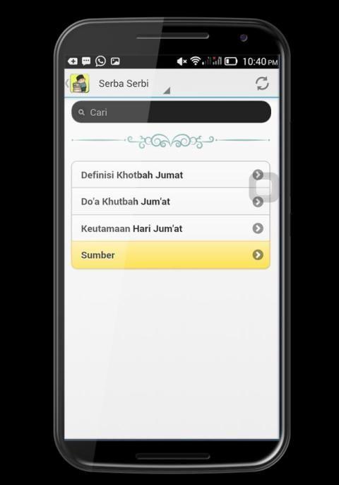 Khotbah Jumat Teks dan MP3 screenshot 2