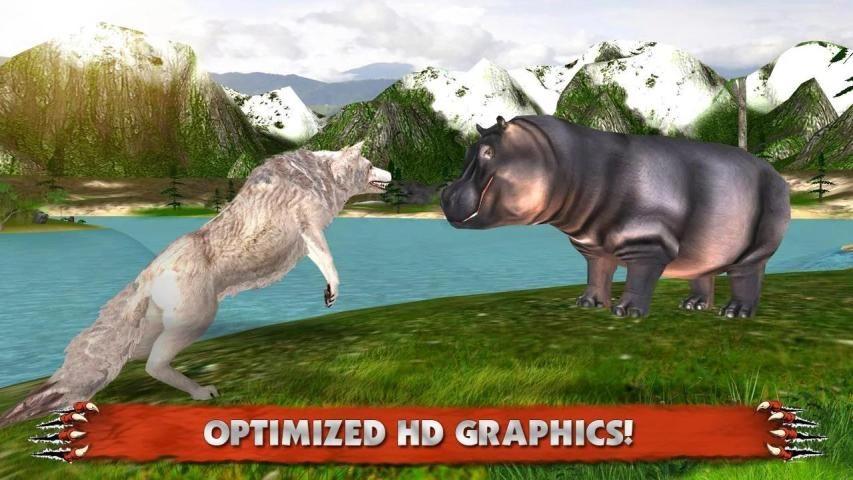 Wolf Simulator 3D screenshot 6
