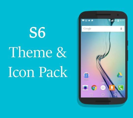 S6 Launcher & Theme Icons Pack screenshot 3