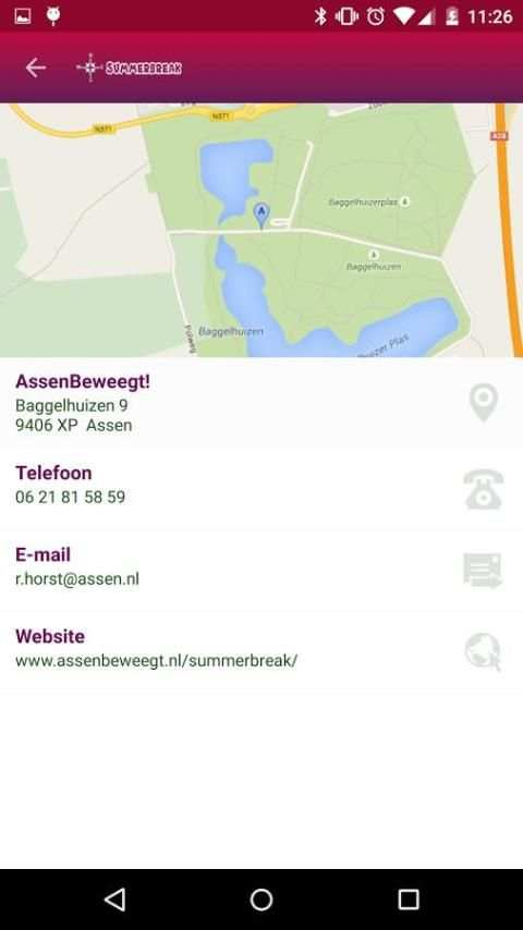 Summerbreak - Assen Beweegt screenshot 4