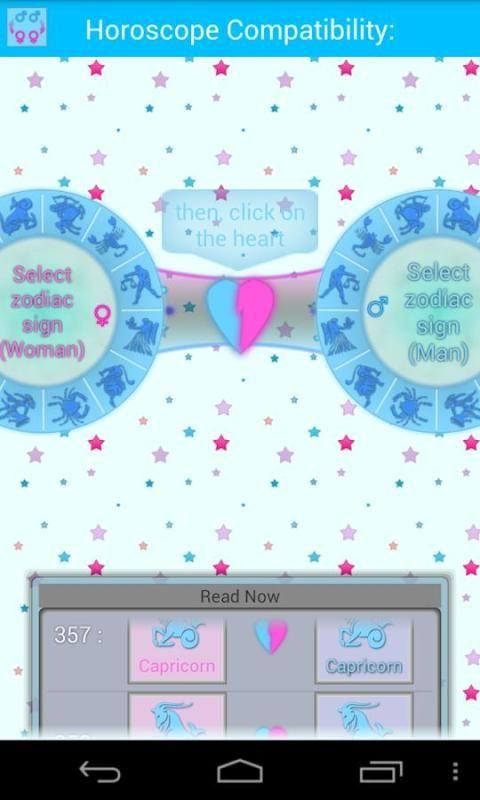 Horoscope ideal Compatibility 4 تصوير الشاشة