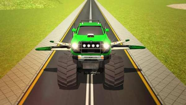 Flying Truck Pilot Driving 3D screenshot 24