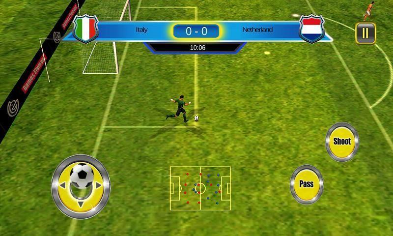 Soccer World Cup 2014 स्क्रीनशॉट 2