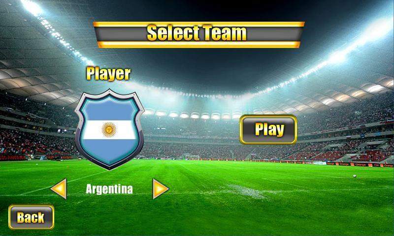 Soccer World Cup 2014 स्क्रीनशॉट 3