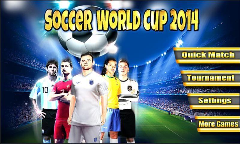 Soccer World Cup 2014 स्क्रीनशॉट 8