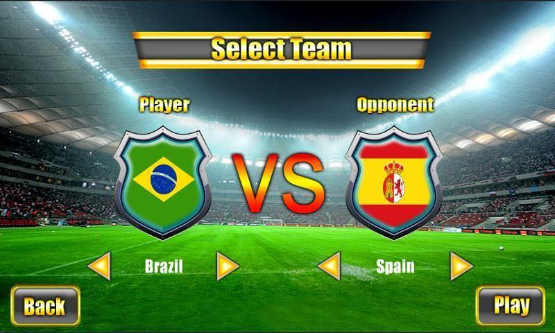 Soccer World Cup 2014 screenshot 4