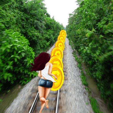 Temple Rail-Train Run screenshot 1