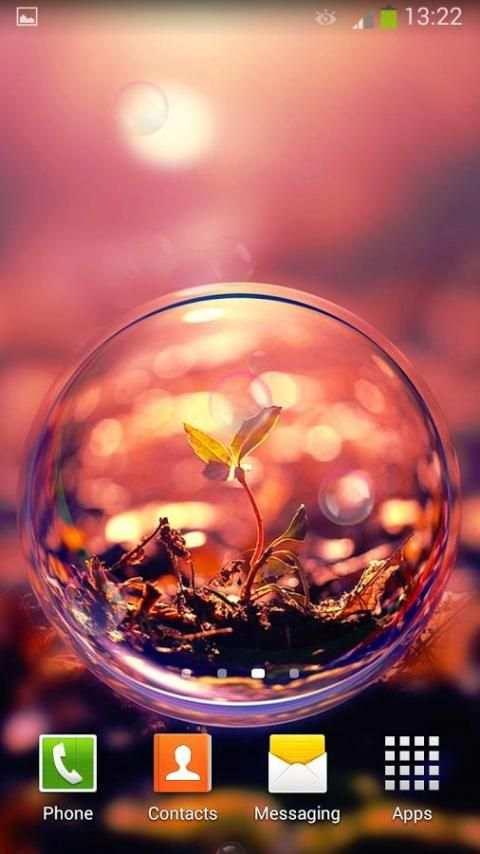Bubbles Live Wallpaper screenshot 3