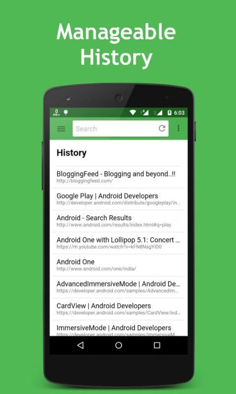 OMG Browser for Android 2 تصوير الشاشة