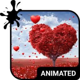 Land of Love Animated Keyboard