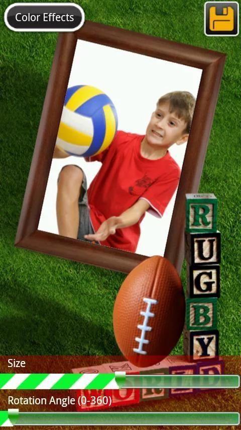 Sports Frames screenshot 1