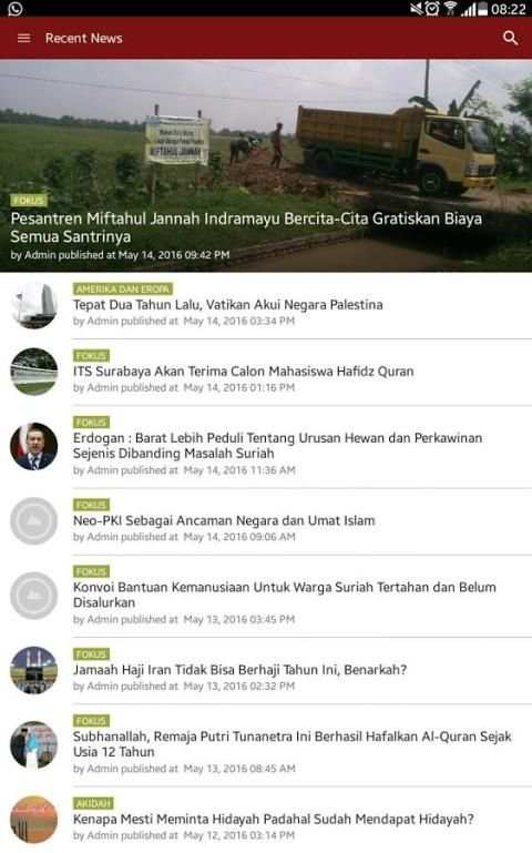 Fokus Islam screenshot 1