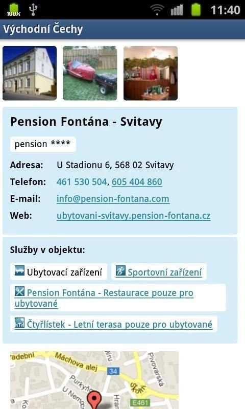 Eastern Bohemia INFO screenshot 12