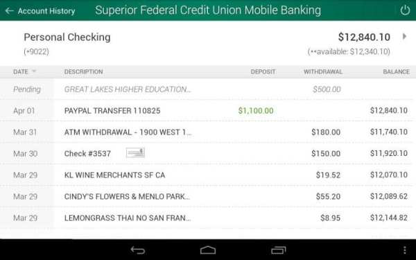 Superior Credit Union скриншот 4