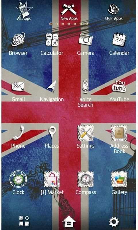 UNION JACK [+]HOME Theme screenshot 3